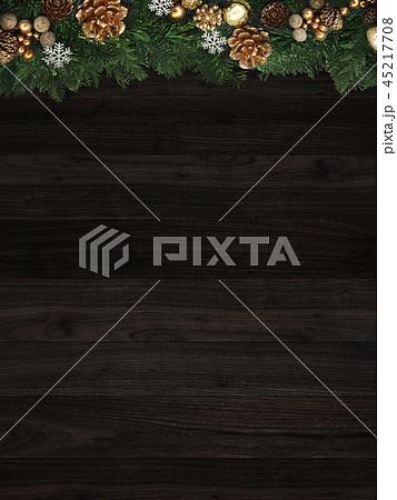 背景-クリスマス-もみの木-飾り 45217708