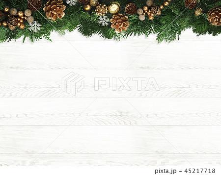 背景-クリスマス-もみの木-飾り 45217718