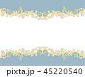金の蔦模様のクラシックな背景素材 45220540