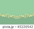 金の蔦模様のクラシックな背景素材 45220542