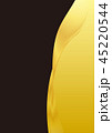 金色のラインと黒色の背景素材 45220544