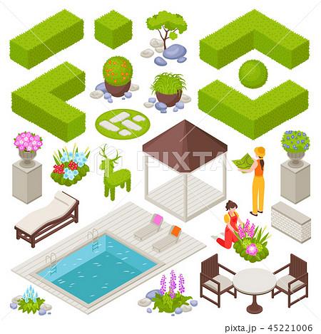 Landscape Design Set 45221006