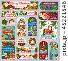 Christmas tags or label of winter holiday gifts 45221546