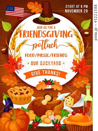 Thanksgiving dinner and Friendsgiving potluck 45221588