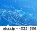 デジタル 背景 ブルーのイラスト 45224666