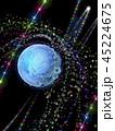 地球 グローバル テクノロジーのイラスト 45224675
