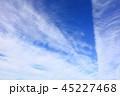 空 雲 青空の写真 45227468