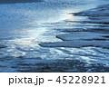 鳥取砂丘 冬 雪の写真 45228921