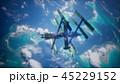 地球 衛星 サテライトのイラスト 45229152