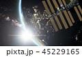 地球 軌道 衛星のイラスト 45229165