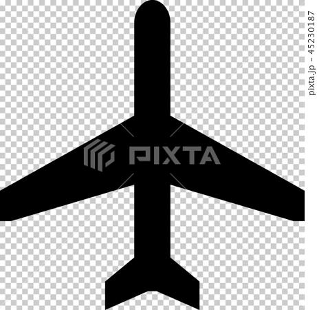飛機/機場/機場標誌/指南地圖符號(象形圖) 45230187