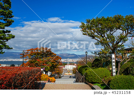 【北海道函館】基坂・明治時代に里数を測る基点となる「里程元標」が立ったことからこの名前がついた。 45231158