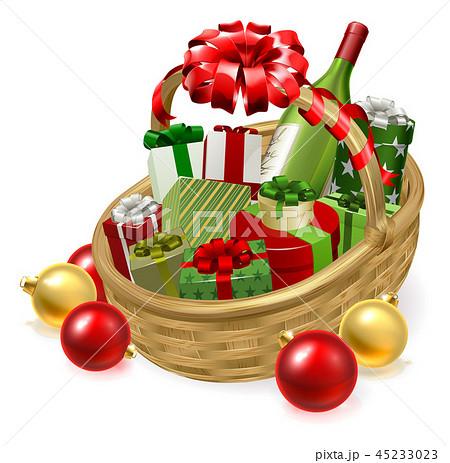 Christmas Hamper Gift Basket 45233023