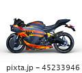 乗り物 バイク オートバイのイラスト 45233946