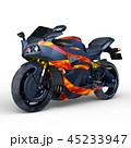 乗り物 バイク オートバイのイラスト 45233947