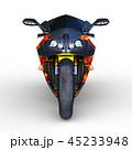 乗り物 バイク オートバイのイラスト 45233948