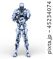 CG ロボット SFのイラスト 45234074