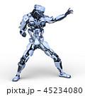 CG ロボット SFのイラスト 45234080
