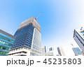建設現場 ビル 建設の写真 45235803