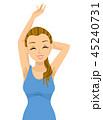 10代 女子 ワキのイラスト 45240731