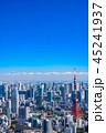 東京都 東京タワー 都市風景の写真 45241937