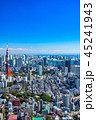 東京都 東京タワー 都市風景の写真 45241943