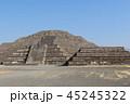 月のピラミッド ピラミッド テオティワカンの写真 45245322