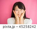 女性 主婦 笑顔の写真 45258242