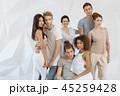グループ 集団 人々の写真 45259428