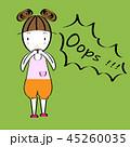 子 子供 女性のイラスト 45260035