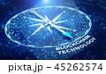 Block chain network concept 45262574