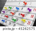 Concept of calendar, reminder, organizing 45262575