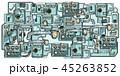 マシン マシーン 機械のイラスト 45263852