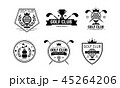 クラブ スポーツ ベクタのイラスト 45264206