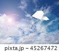 紙飛行機 紙 飛行機の写真 45267472