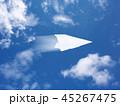 紙飛行機 紙 飛行機の写真 45267475