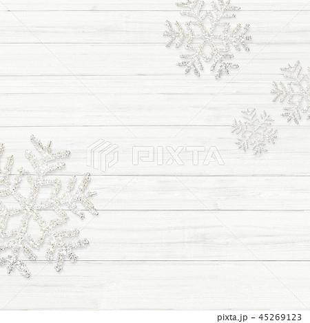 背景-白壁-クリスマス-飾り 45269123
