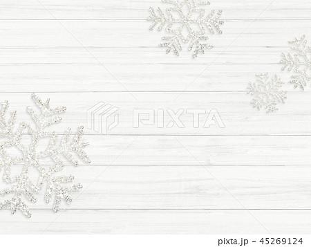 背景-白壁-クリスマス-飾り 45269124