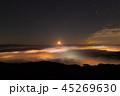 月 雲海 夜景の写真 45269630