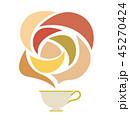 紅茶とアロマのイラスト 45270424