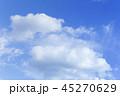 雲 青空 空の写真 45270629