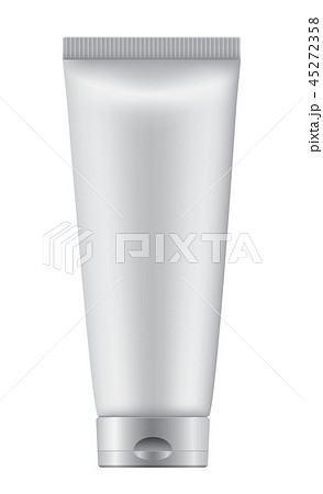 Cosmetic bottle on white background 45272358