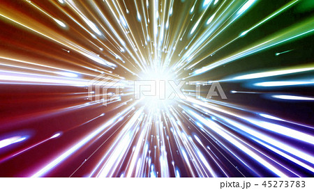 3D rendering light tunnel 45273783