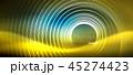 青 青い ネオンのイラスト 45274423