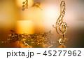 ミュージック 譜面 音楽のイラスト 45277962