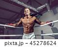 ボクサー 人 筋肉の写真 45278624