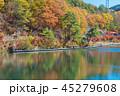 聖湖 紅葉 湖の写真 45279608