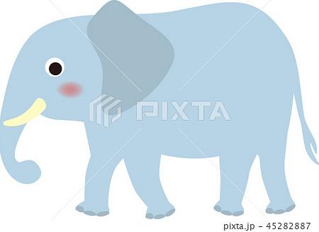 象のイラスト素材 45282887 Pixta