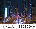 東京夜景・東京タワー 三田 田町駅前 45282940