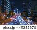 東京夜景・田町駅前 45282978